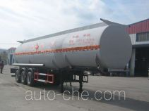 Huachang QDJ9407GRY flammable liquid tank trailer