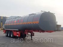 Huachang QDJ9407GRYA flammable liquid tank trailer