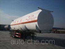 Huachang QDJ9408GRY flammable liquid tank trailer