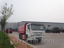 青专牌QDZ5250ZLJZH38型自卸式垃圾车