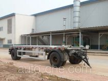 Detachable body garbage drawbar trailer