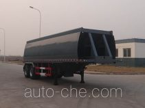 Oilfield slurry blender trailer