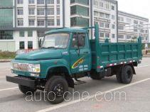 钦机牌QJ4810CD型自卸低速货车
