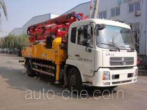 Jinma QJM5160THB concrete pump truck