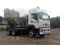 Isuzu QL4252UKCZ dangerous goods transport tractor unit