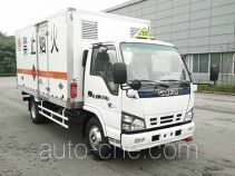 Qingling QL5040XRQA5HAJ flammable gas transport van truck