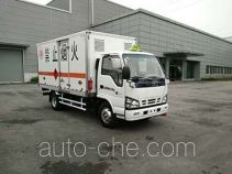 Qingling QL5040XRYA5HAJ flammable liquid transport van truck