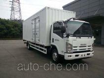 Qingling QL5080XXYA8PAJ box van truck