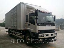 Qingling QL5180XXYXRFRJ box van truck