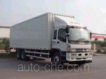 Qingling Isuzu QL5250XXYDSFZJ box van truck