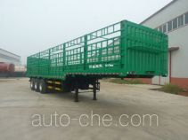 旗林牌QLG9400CCY-E型仓栅式运输半挂车