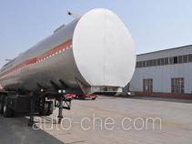 旗林牌QLG9400GFW型腐蚀性物品罐式运输半挂车