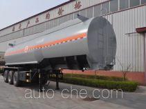旗林牌QLG9401GFW型腐蚀性物品罐式运输半挂车