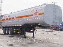 Qilin QLG9404GRY flammable liquid tank trailer