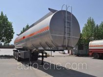 Qilin QLG9404GRYB flammable liquid aluminum tank trailer
