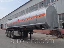 Qilin QLG9405GRYB flammable liquid tank trailer
