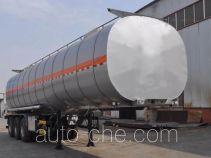 旗林牌QLG9405GSY型铝合金食用油运输半挂车
