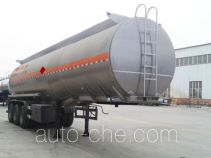 Qilin QLG9406GRYA flammable liquid aluminum tank trailer