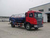 Jieli Qintai QT5160GXWFC3 vacuum sewage suction truck