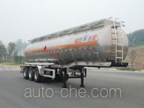 Qixing QXC9406GRY flammable liquid aluminum tank trailer