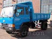 一汽四环牌QY5820PD1型自卸低速货车