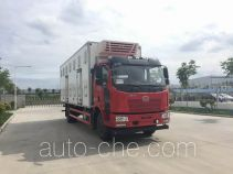 Qingchi QYK5160XCQ chicken transport truck