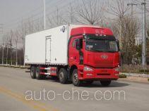 Qingchi QYK5314XBW insulated box van truck