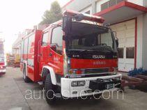 Yongqiang Aolinbao RY5155GXFAP40AB пожарный автомобиль тушения пеной класса А