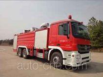 Yongqiang Aolinbao RY5282GXFPM130/P foam fire engine