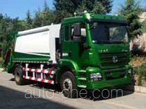 陕汽牌SBT5160ZYSSJ1型压缩式垃圾车
