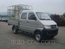Changan SC5021CDS31CNG двухтопливный грузовик с решетчатым тент-каркасом