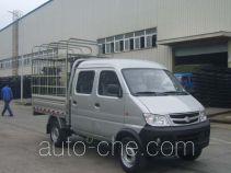 Changan SC5021CDS32CNG двухтопливный грузовик с решетчатым тент-каркасом