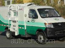 长安牌SC5035ZZZDAEV型纯电动自装卸式垃圾车