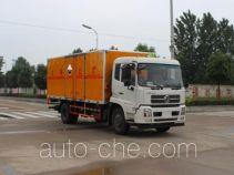 润知星牌SCS5160XFWD型腐蚀性物品厢式运输车
