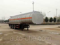 Runli Auto SCS9400GRY flammable liquid tank trailer
