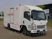 远达牌SCZ5071XXYBEV型纯电动厢式运输车