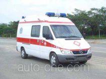 银道牌SDC5035XJJ型急救车
