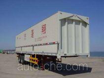 Pengxiang SDG9210XYK полуприцеп фургон с подъемными бортами (фургон-бабочка)