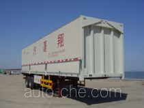 Pengxiang SDG9321XXY box body van trailer