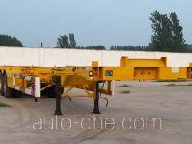 运腾驰牌SDT9400TJZ型集装箱运输半挂车
