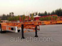 运腾驰牌SDT9401TJZE型集装箱运输半挂车