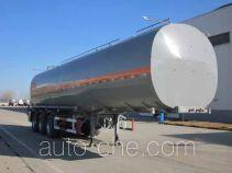 Wanshida SDW9401GRYA flammable liquid aluminum tank trailer
