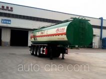Wanshida SDW9406GRYA flammable liquid tank trailer