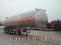 Wanshida SDW9407GRY flammable liquid aluminum tank trailer