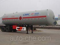 Shengdayin SDY9350GYQ liquefied gas tank trailer