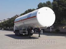 Shengdayin SDY9391GDYT cryogenic liquid tank semi-trailer