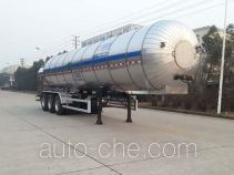 Carbon dioxide transport tank trailer