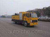 圣岳牌SDZ5107TXBE型沥青路面热再生修补车