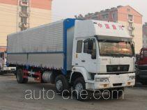圣岳牌SDZ5200XYK型翼开式厢式运输车
