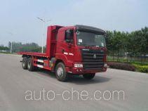 Shengyue SDZ5255TPB flatbed truck